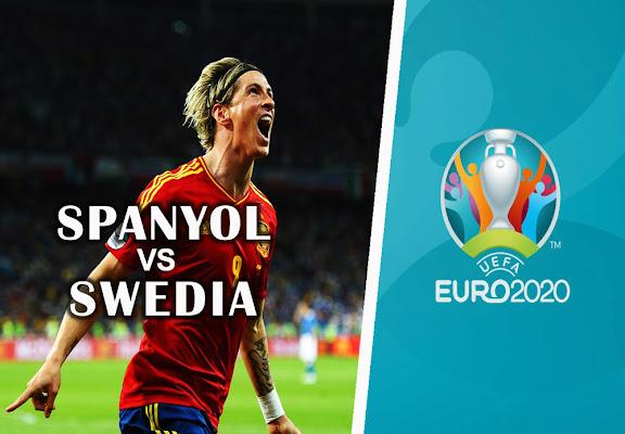 Prediksi Skor Spanyol vs Swedia EURO 2020