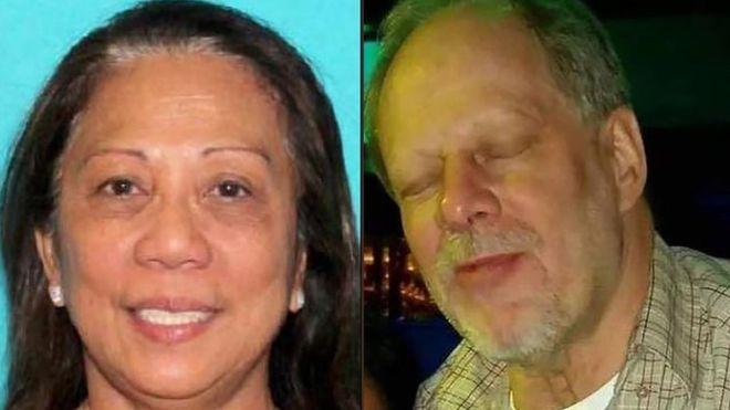 Las Vegas shooting: Paddock's 'girlfriend' arrives in US