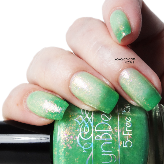 xoxoJen's swatch of LynB Designs A Little Absinthe Minded
