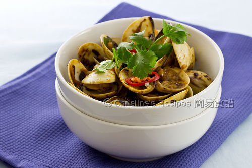 Stir-Fried Clams with Black Bean Sauce02