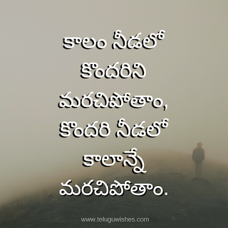 Quotes In Telugu on real life