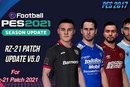 RZ Patch Season 2021 AIO + Update V5 - PES 2017