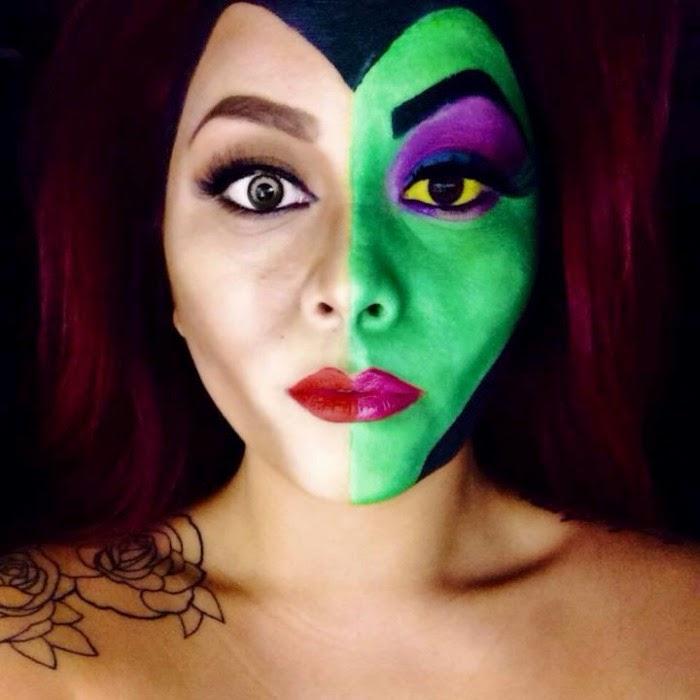 Facepainting. Janna