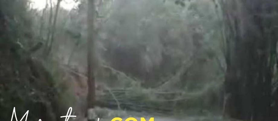 Fenomena Angin Kencang Akibat Pancaroba, Topan dan Badai
