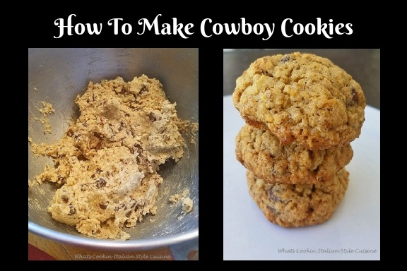 This how to make the best cowboy cookies with oatmeal and coconut
