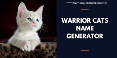 1500+ Warrior Cats Name Generator