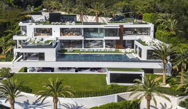 Villa por 250 milhões de dólares, Califórnia