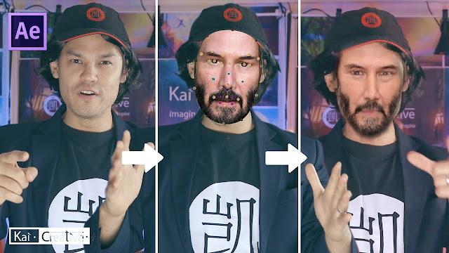 برنامج تركيب الوجه على جسم اخر على الفيديو باحترافية عالية Adobe After Effect