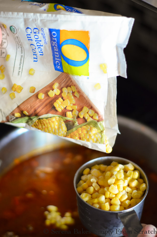 Mexican Meatball Soup Corn