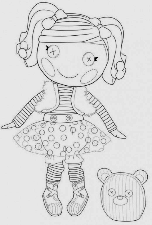 lalaloopsy coloring pages colouring pages 15 free printable ...