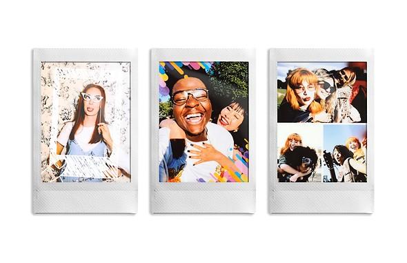 Фотографии, распечатанные на портативном принтере Fujifilm Instax Mini Link