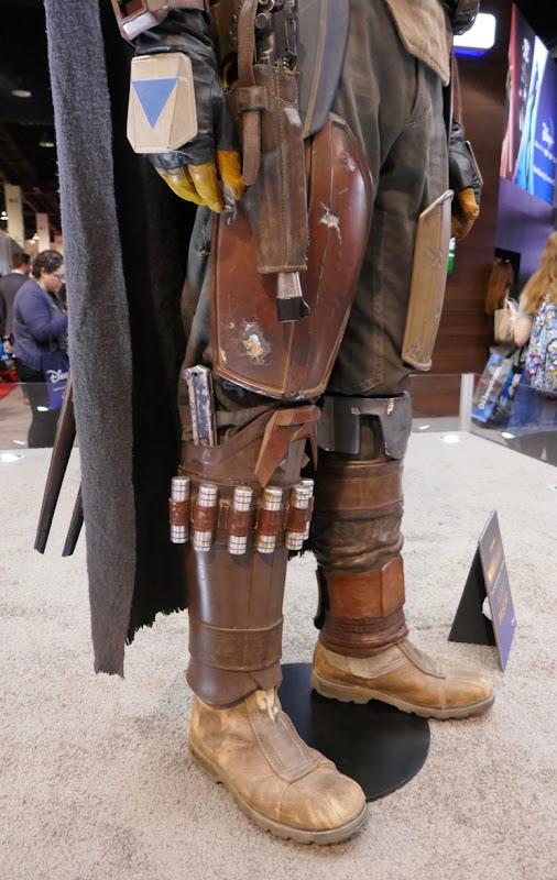 Mandalorian costume legs