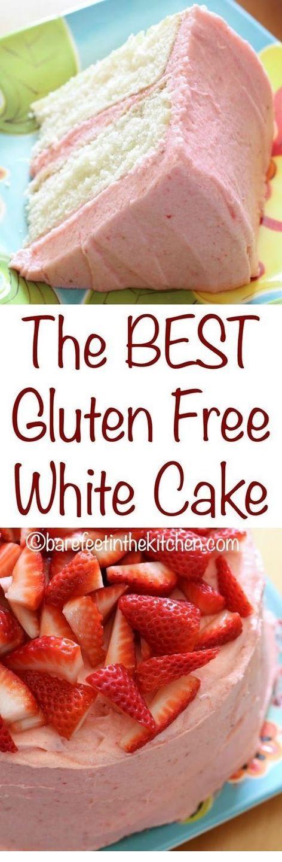 The Best Gluten Free White Cake