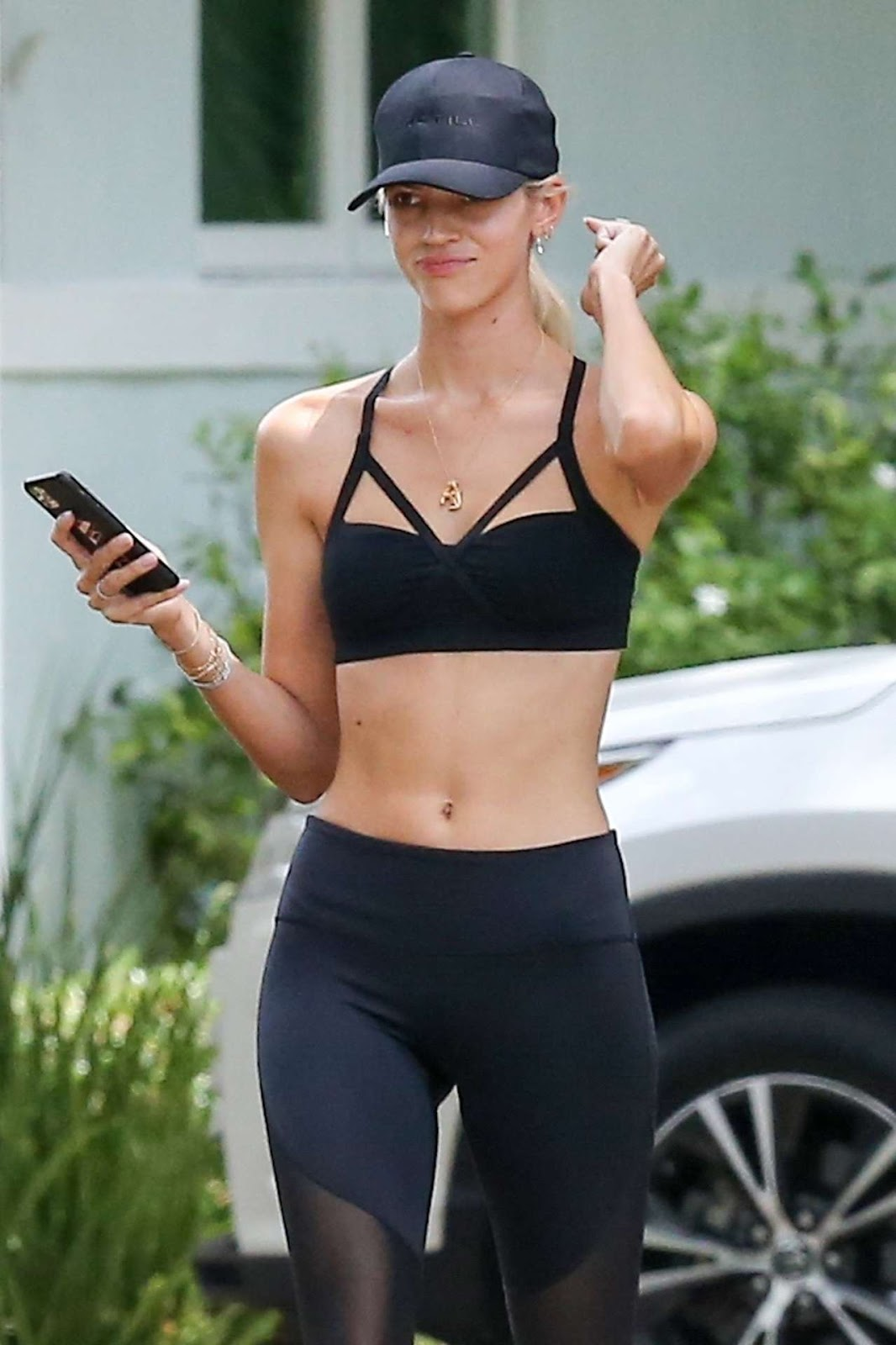 Devon Windsor Looks Hot in Tight Outfit