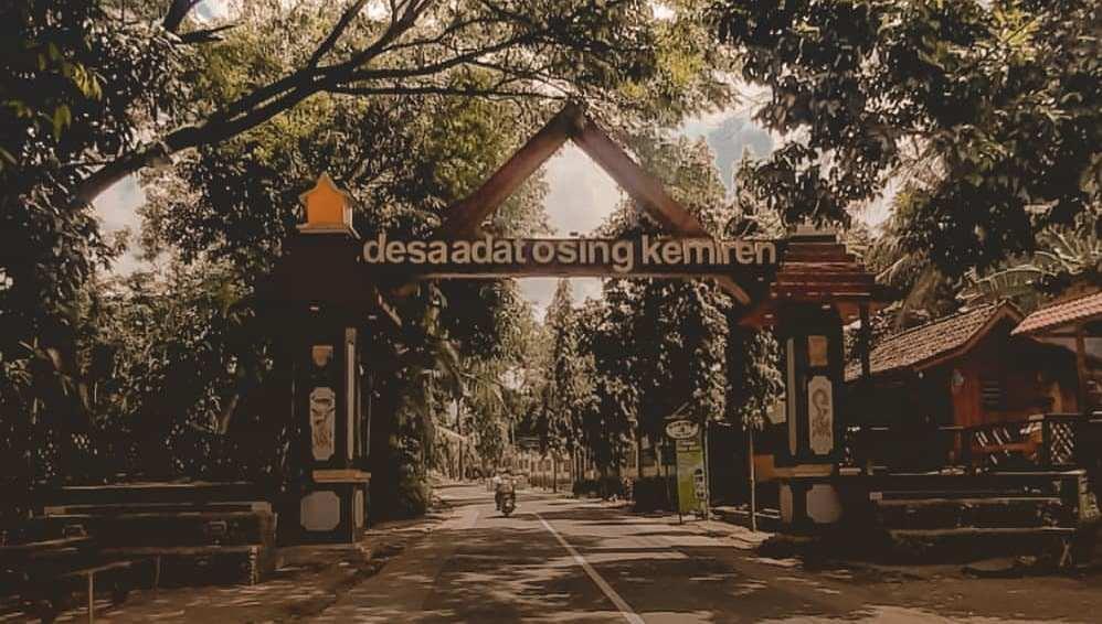 Desa Osing Kemiren salah satu desa wisata spesial di Indonesia
