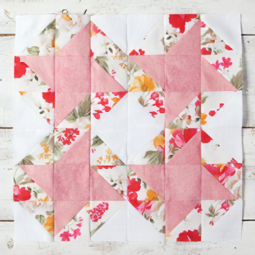 Friendship Stars Quilt Block - Free Pattern & Tutorial