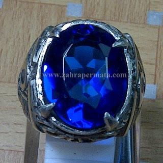 Cincin Batu Natural Blue Obsidian - ZP 764
