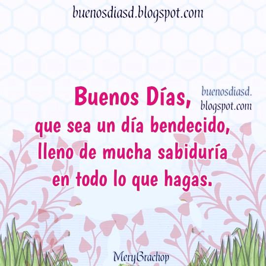 bonita tarjeta para saludar amigos facebook, buenos dias y bendiciones por Mery Bracho