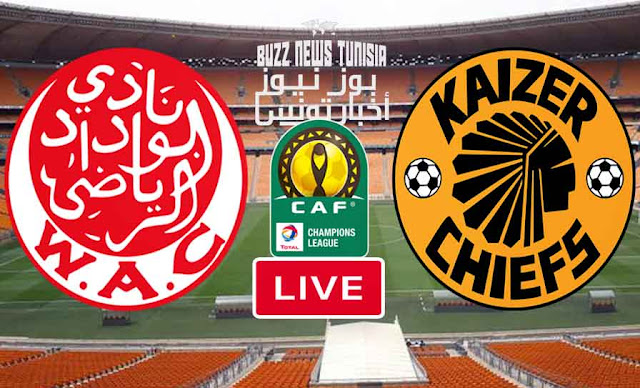 Watch Match Kkaizer Chiefs vs Wydad Casablanca Live Streaming Africa Champions League