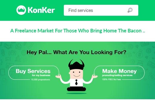 Konker - A Freelance Market