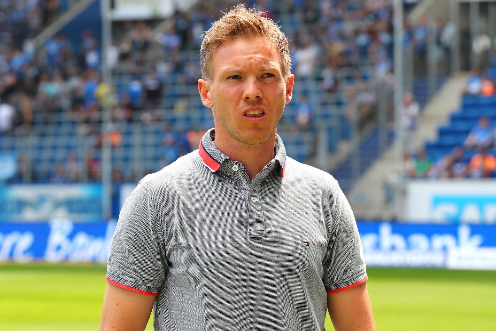 Bayern Munich coach Julian Nagelsmann