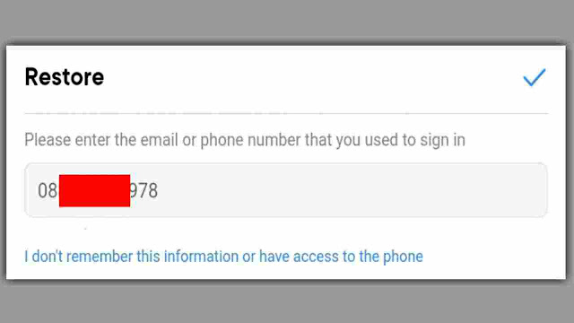 cara mengatasi lupa password akun vk