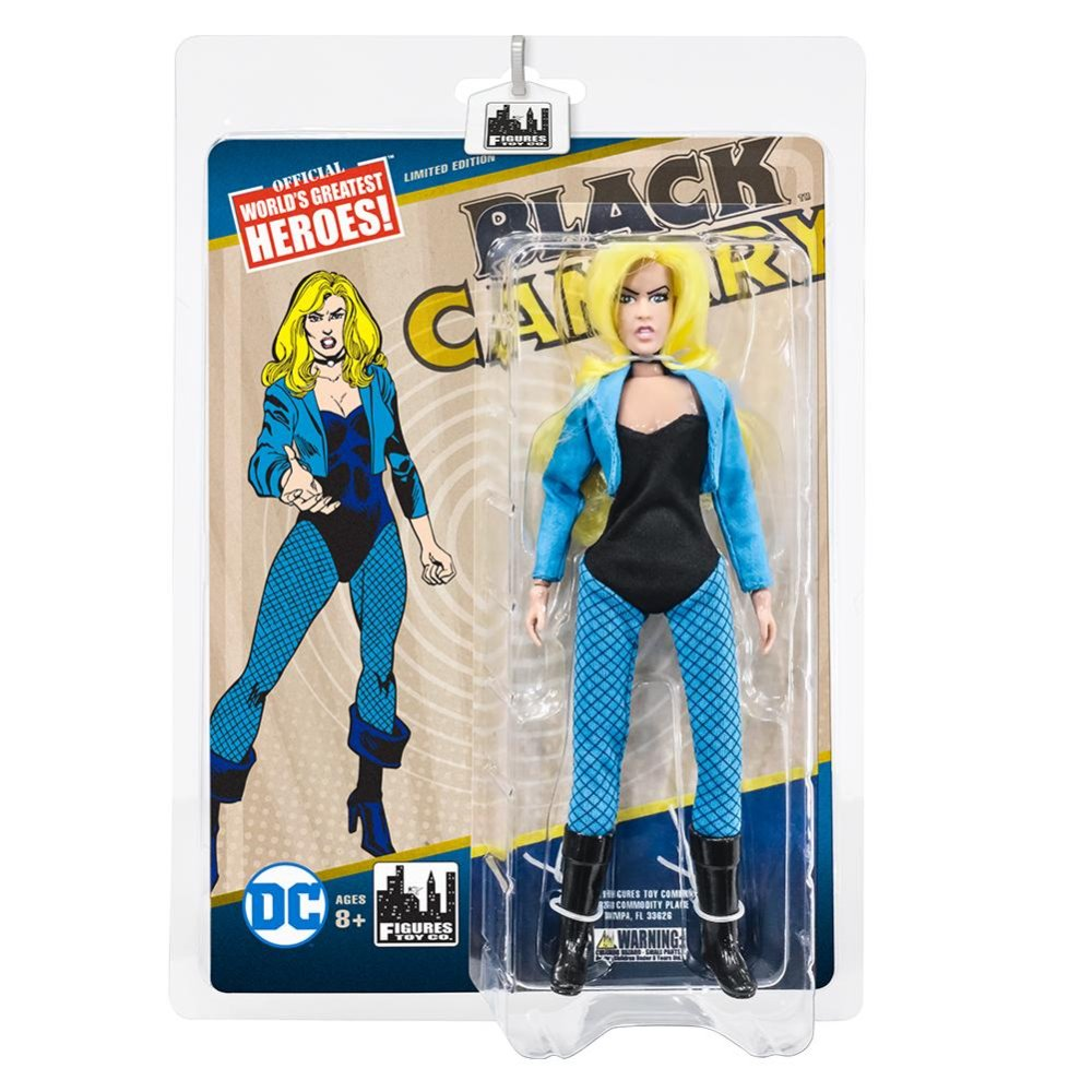 Black Canary DC Comics Retro 8 Inch Action Figure Series