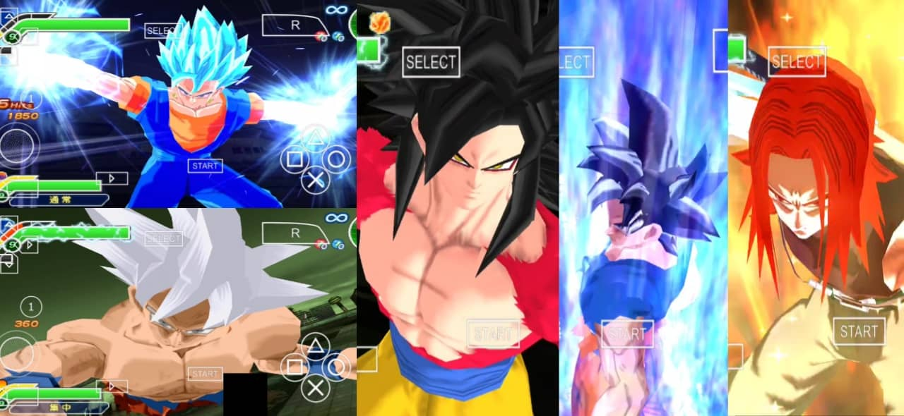 Super Dragon ball Heroes PPSSPP ISO Download