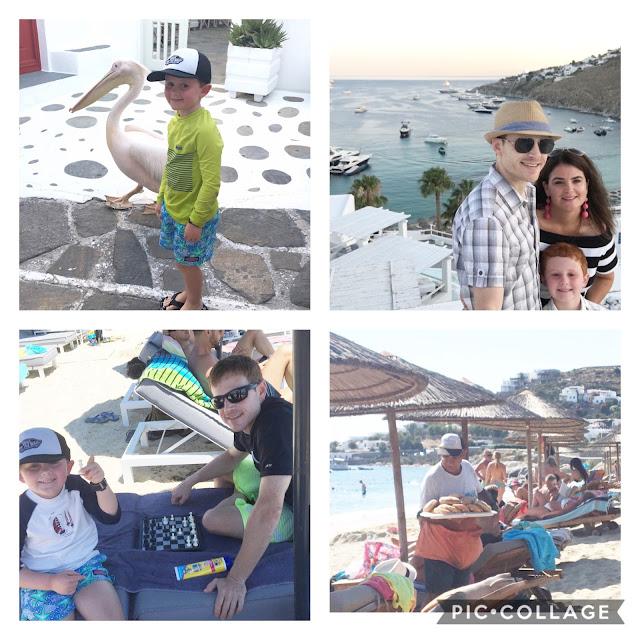 Mykonos Greece family trip