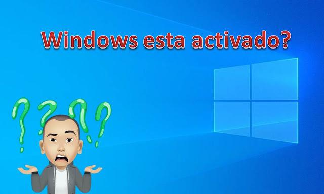 si quieres estar seguro si tu windows esta activado coloca esto SLMGR.VBS -XPR en ejecutar y listo