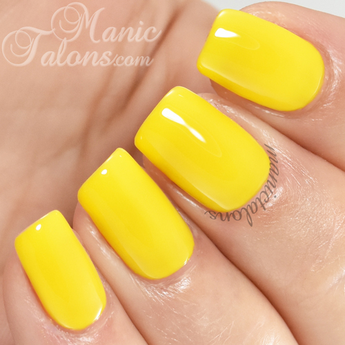 Madam Glam Gel Polish Mimosa Swatch
