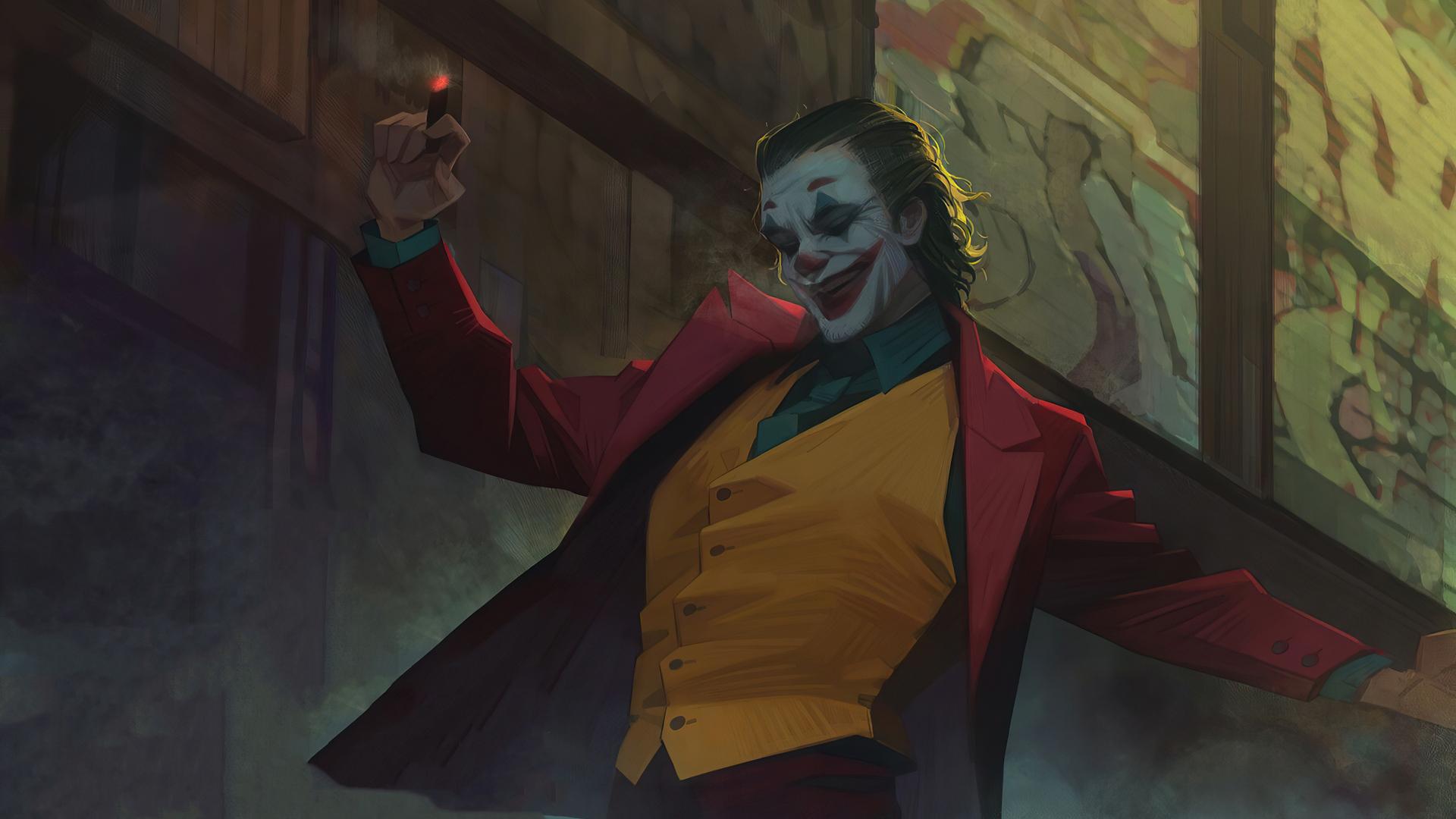 Joker HD Stairs Dance Wallpaper