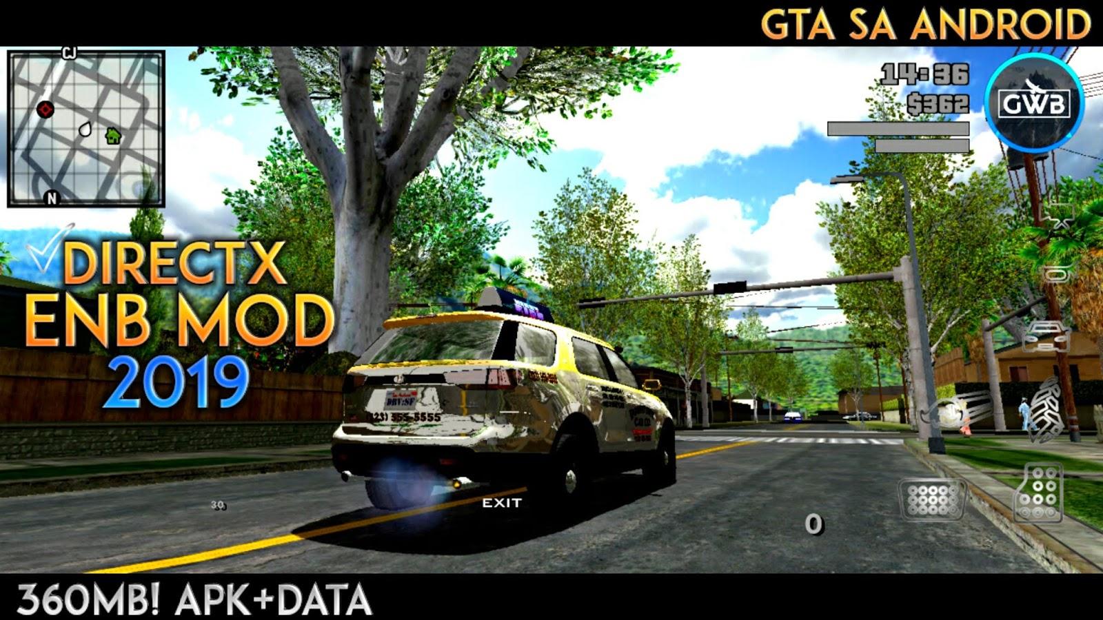 360MB] GTA SA LITE !! WOW ! DIRECTX ENB MODPACK | GTA SA