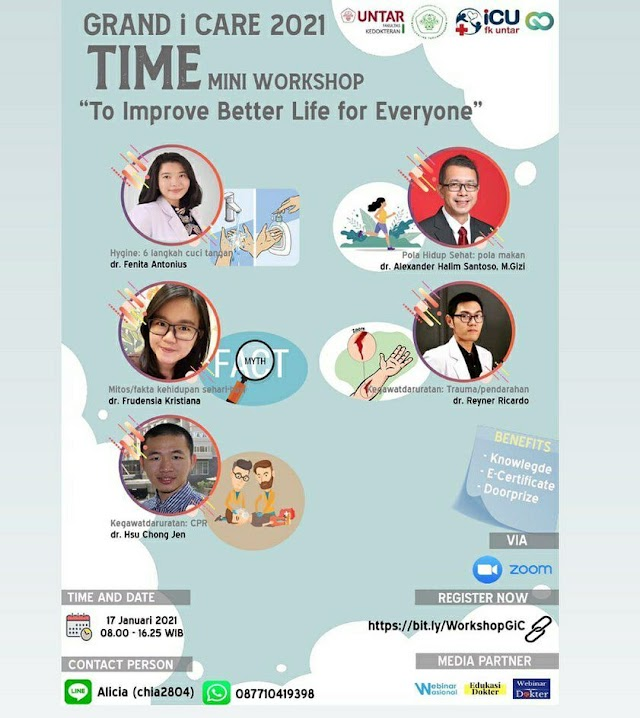 Mini Workshop Grand i Care 2021    To Improve Better Life for Everyone