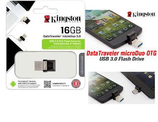 pen drive 16gb kingston microduo 3.0