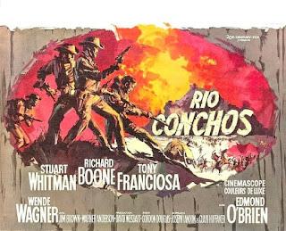 Póster de la película 'Río Conchos'