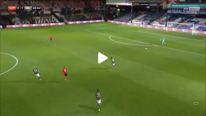 VIDEO: Luton 0:3 Manchester United /  Carabao Cup,