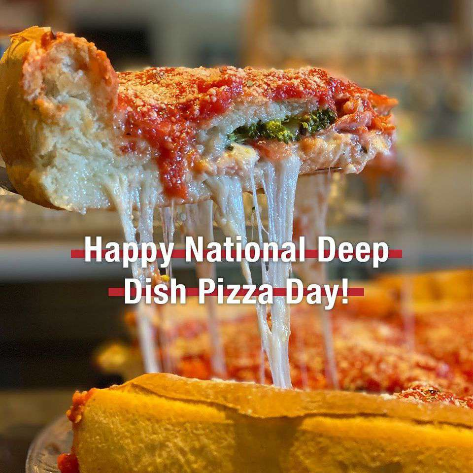 National Deep Dish Pizza Day Wishes for Instagram