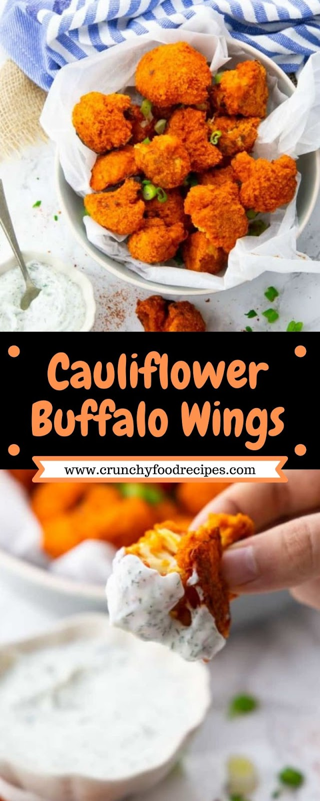 Cauliflower Buffalo Wings