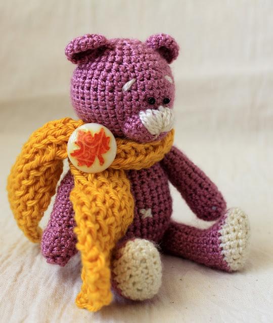 медвежонок, амигуруми