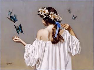 encantadoras-pinturas-mujeres-flores
