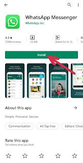 whatsapp kaise download karte hain