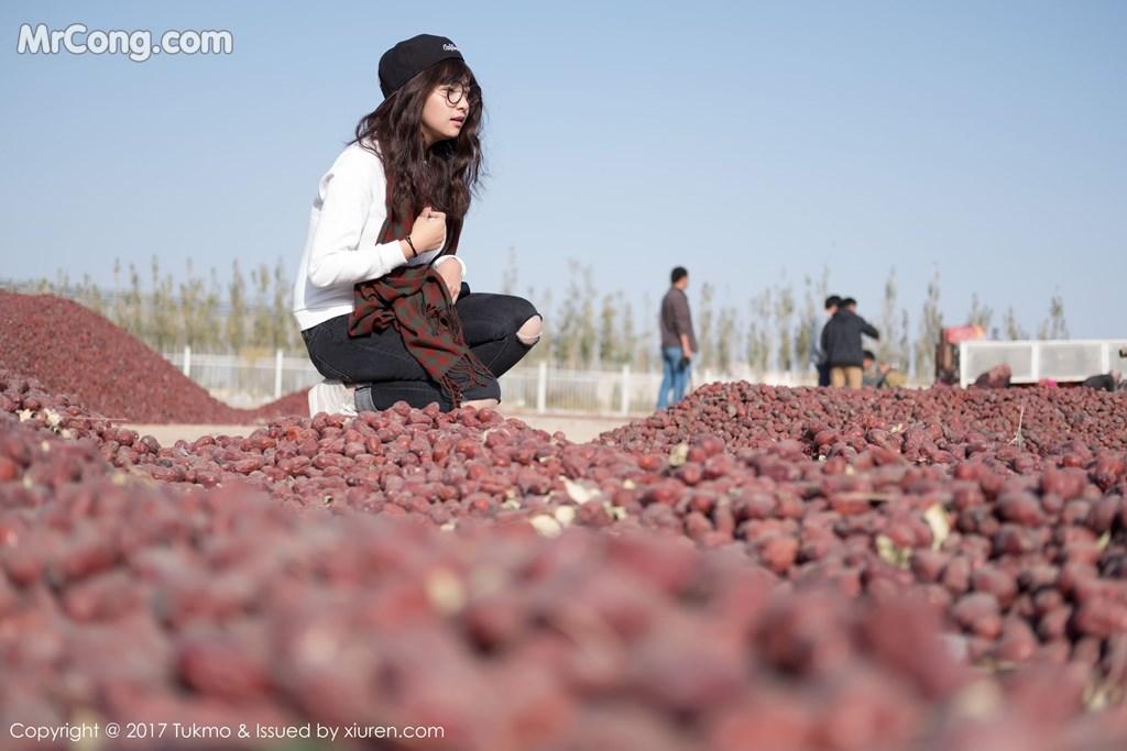 Image Tukmo-Vol.105-Qiu-Qiu-MrCong.com-001 in post Tukmo Vol.105: Người mẫu Qiu Qiu (球球) (41 ảnh)