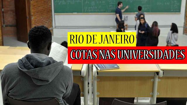 Deputados do Rio prorrogam cotas nas universidades públicas estaduais