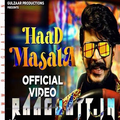 Haad Masala by Gulzaar Chhaniwala lyrics