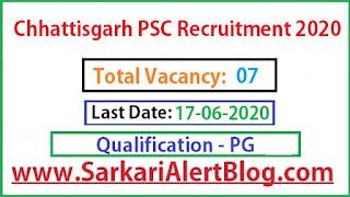 https://www.sarkarialertblog.com/2020/06/chhattisgarh-psc-assistant-geologist.html
