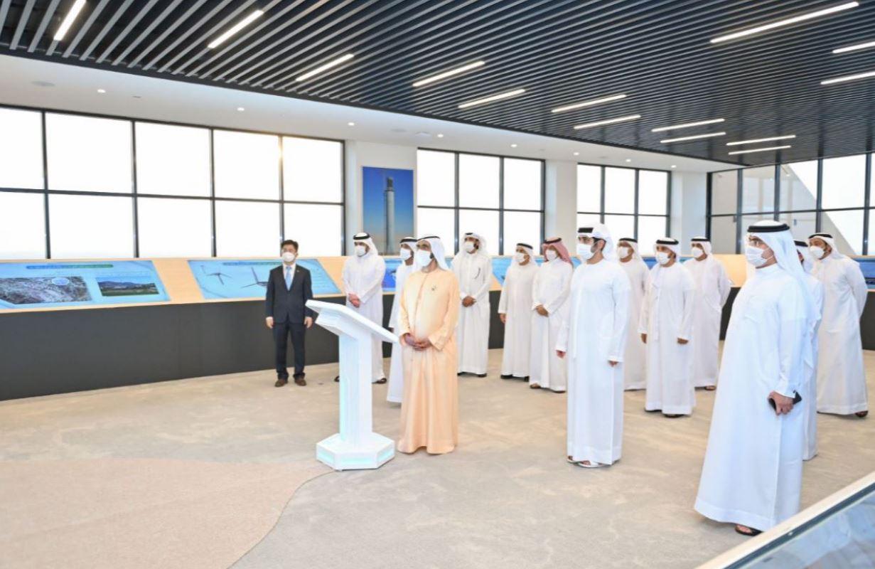 محمد بن راشد يشهد إطلاق أهم مراحل مجمع park الطاقة الشمسية بدبي