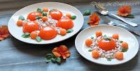 Aspic di melone con chantilly di prosciutto