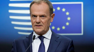 EU President Tusk warns of hostile and foreign-funded parties ahead of EU parliamentary elections