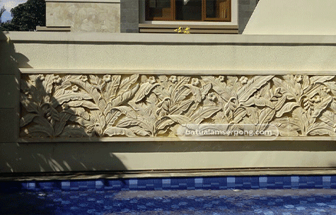 model relief batu alam